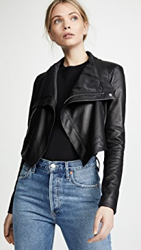 Maximus Smooth Leather Jacket