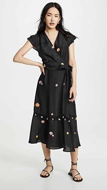 VEDA Gigli Silk Dress