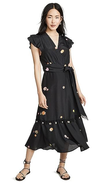 VEDA Шелковое платье Gigli
