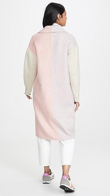 VEDA Двустороннее шерстяное пальто Cedar