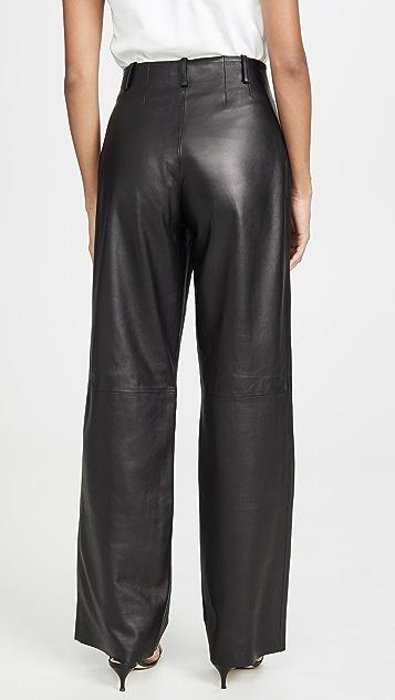 VEDA Кожаные брюки Bess