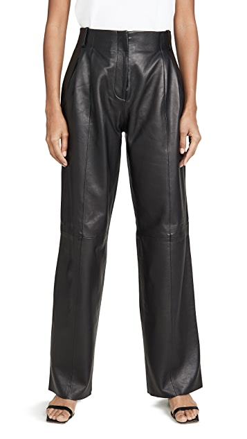VEDA Bess Leather Trousers