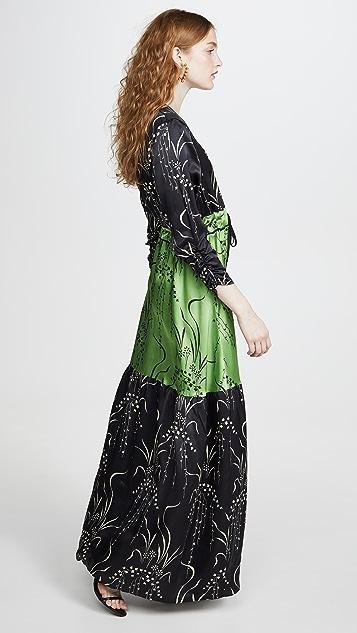 VEDA Swan Silk Dress