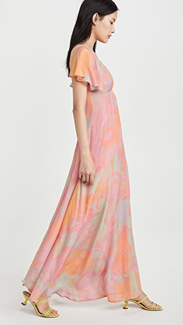 VEDA Corazon Crepe Dress