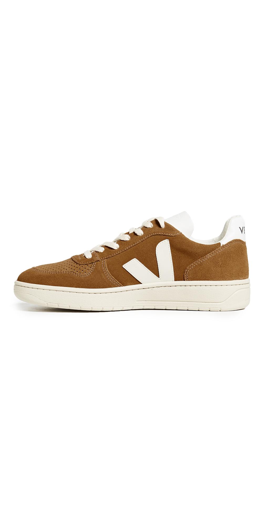 Veja V-10 Suede Sneakers   EASTDANE