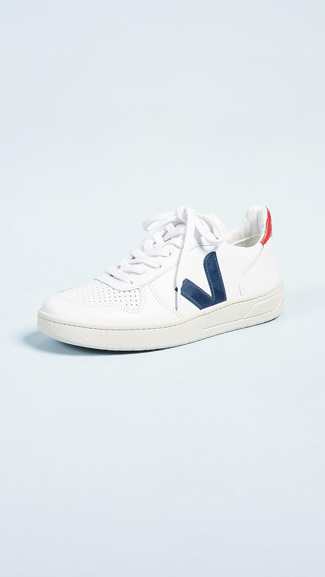 Veja V-10 Sneakers | SHOPBOP | Black