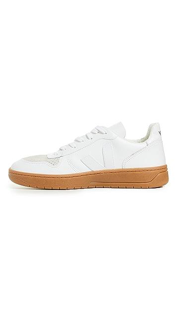 Veja V 10 Leather Sneakers