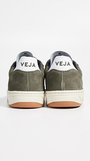 Veja V-10 Suede Sneakers