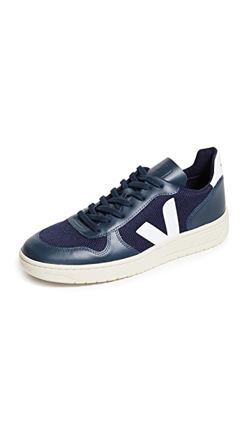 Veja V-10 B Mesh Sneakers