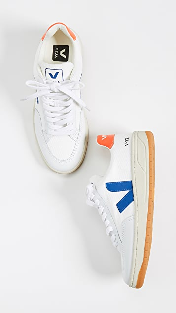 Veja V-12  Lace Up Sneakers