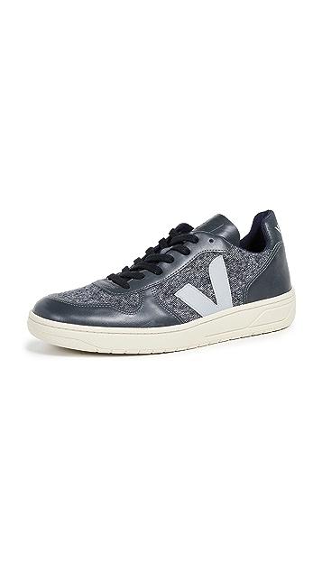 Veja V-10 Flannel Sneakers