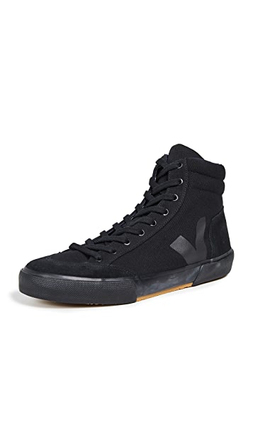 Veja x Lemaire Black High Top Sneakers