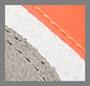 砂砾色/荧光橙色/超紫外线