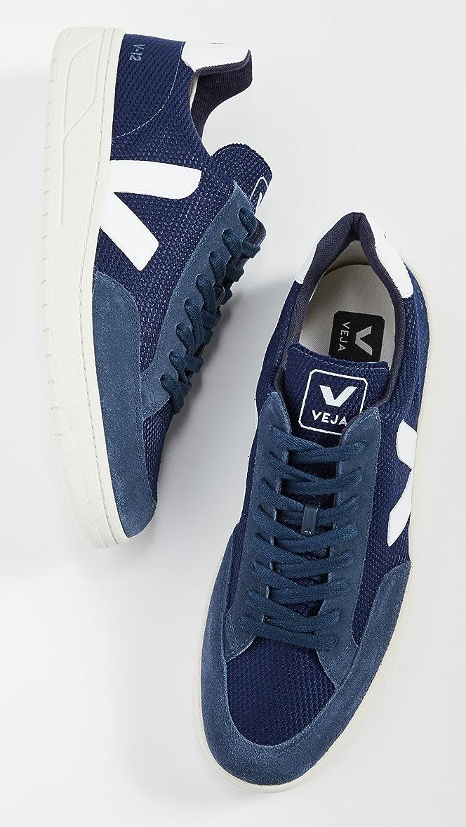 Veja V-12 B Mesh Sneakers | EAST DANE