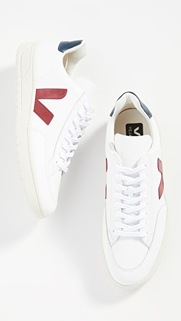 Veja V-12 Leather Sneakers