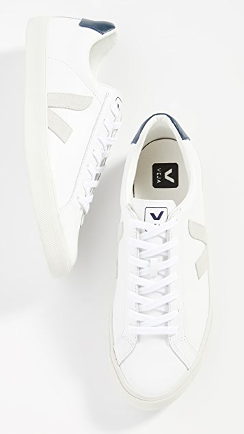 Veja Esplar Logo Leather Sneakers