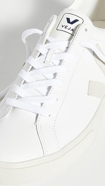 Veja Esplar Logo Leather Sneakers
