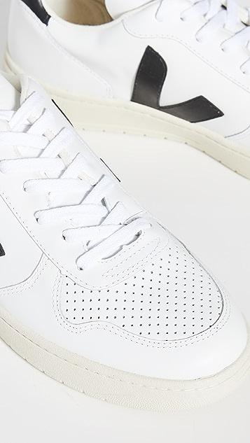 Veja V-10 Leather Sneakers