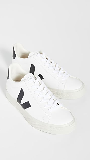 Veja Campo Chromefree Leather Sneakers