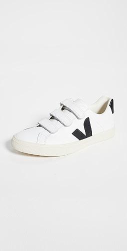 Veja - 3 锁扣徽标运动鞋