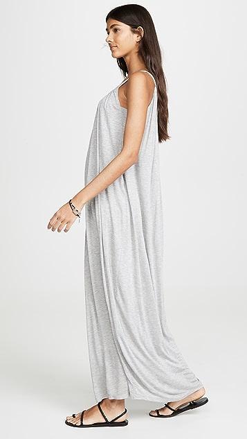 бархат Обтягивающее макси-платье