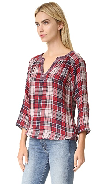 Velvet Zuri Plaid Shirt