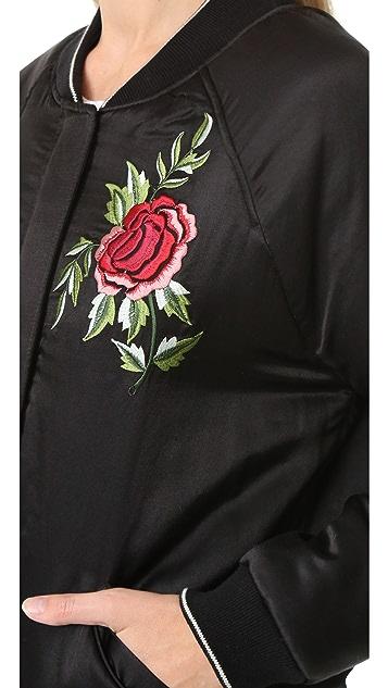 Velvet Aziza Bomber Jacket