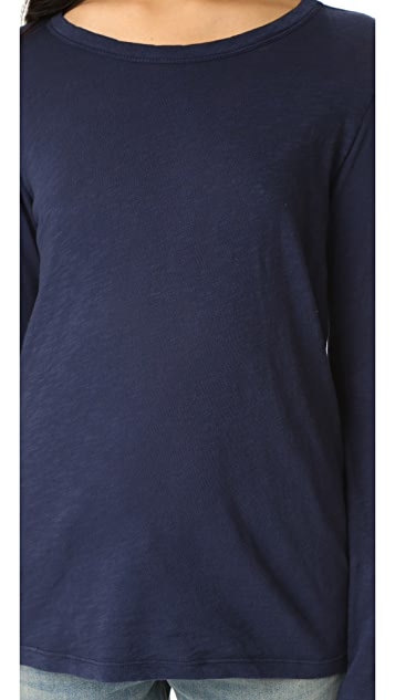 Velvet Lizzie Long Sleeve Top
