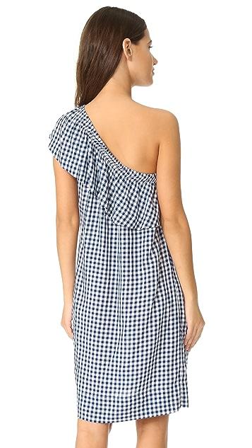 Velvet Virgie One Shoulder Dress