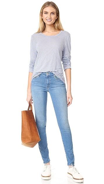 Velvet Cammy Stripe Pullover