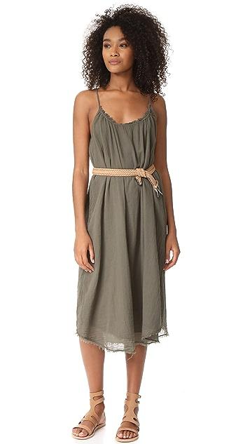 Velvet Lilac Midi Dress