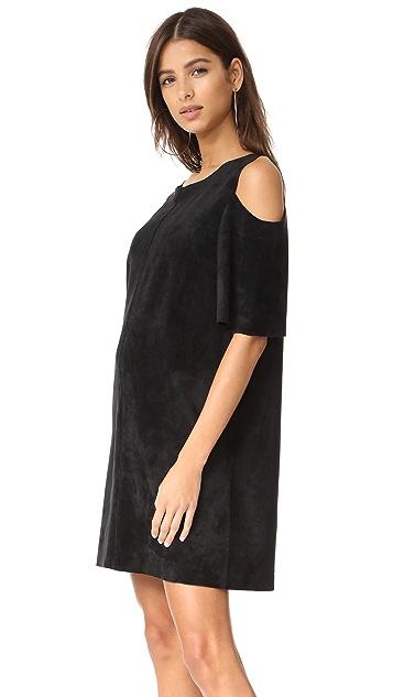 Velvet Alaina Faux Suede Dress