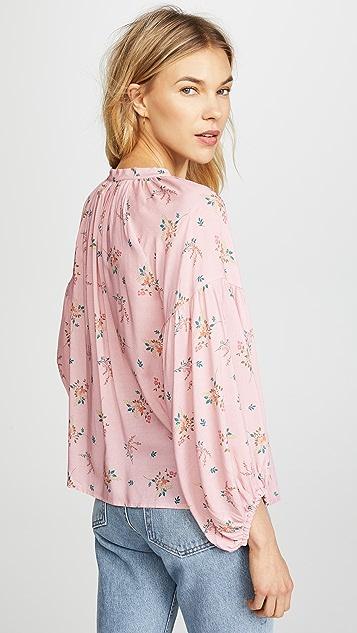 Velvet Sandrine Floral Blouse