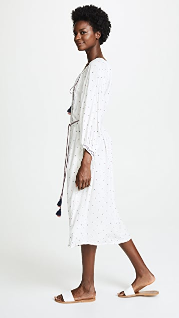 Velvet Isilda Embroidered Dress