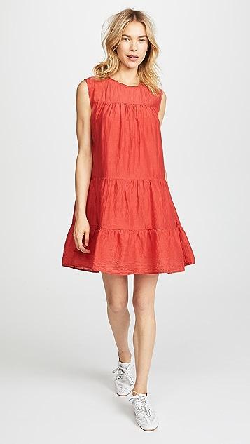 Velvet Shanelle Tiered Mini Dress