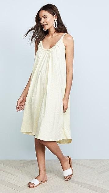 Velvet Burca Midi Dress
