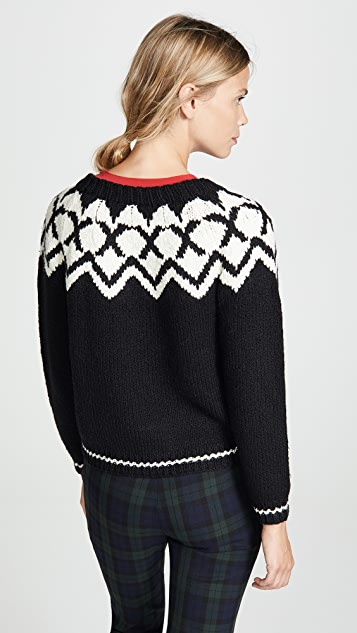 Velvet Robyn Fair Isle Sweater
