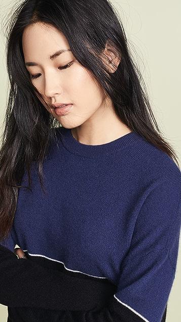 丝绒 Raven 开司米羊绒针织衫
