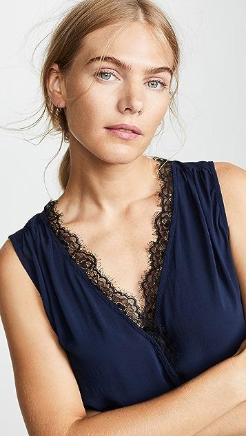 丝绒 Belia 女式衬衫