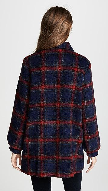 Velvet Colette Plaid Jacket