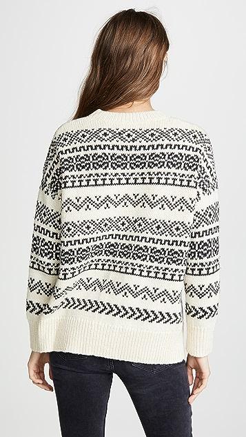 Velvet Yetta Fair Isle Sweater