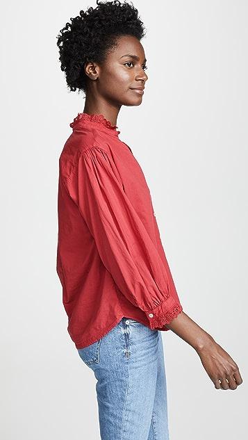 天鹅绒 Myrella 女式衬衫