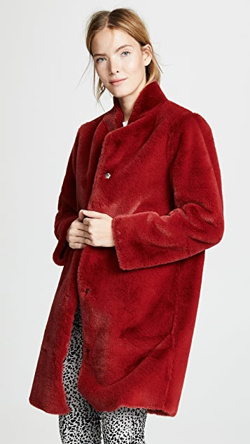 Velvet Mina Faux Fur Coat