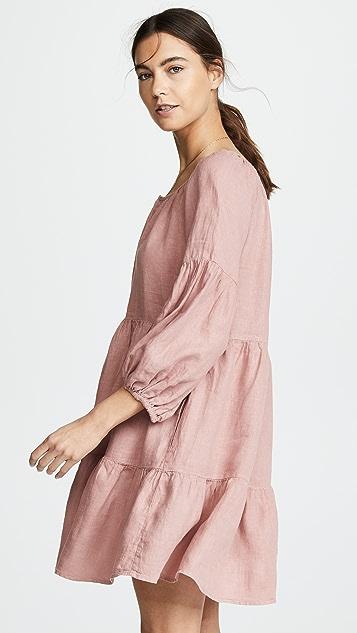 天鹅绒 Vesta 连衣裙