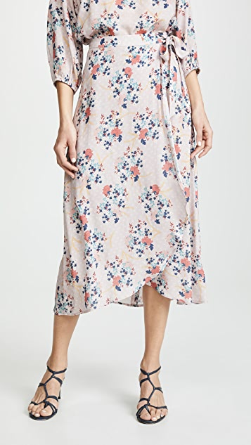天鹅绒 Isadora 半身裙