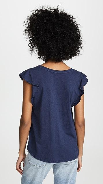 天鹅绒 Kelly T 恤