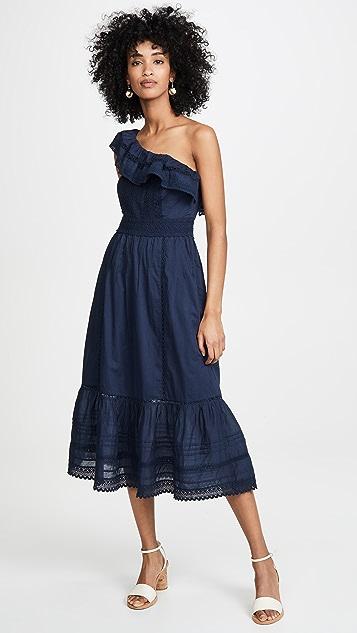 Velvet Coco One Shoulder Dress