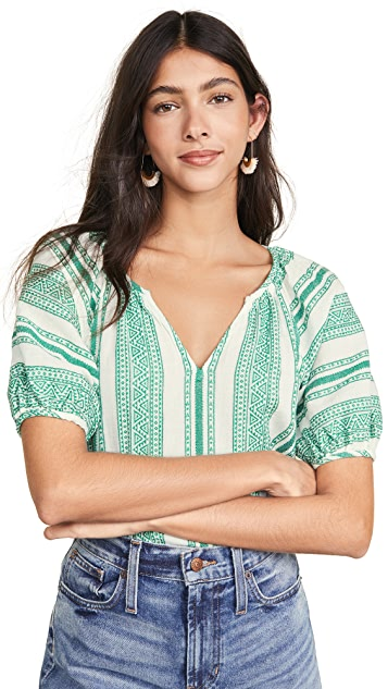 丝绒 Halsey 女式衬衫