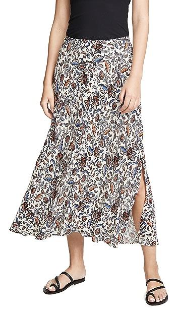 天鹅绒 Willa 半身裙
