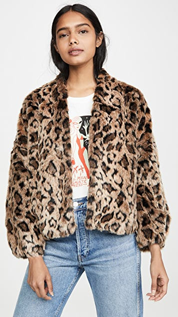 Velvet Anne Faux Fur Jacket